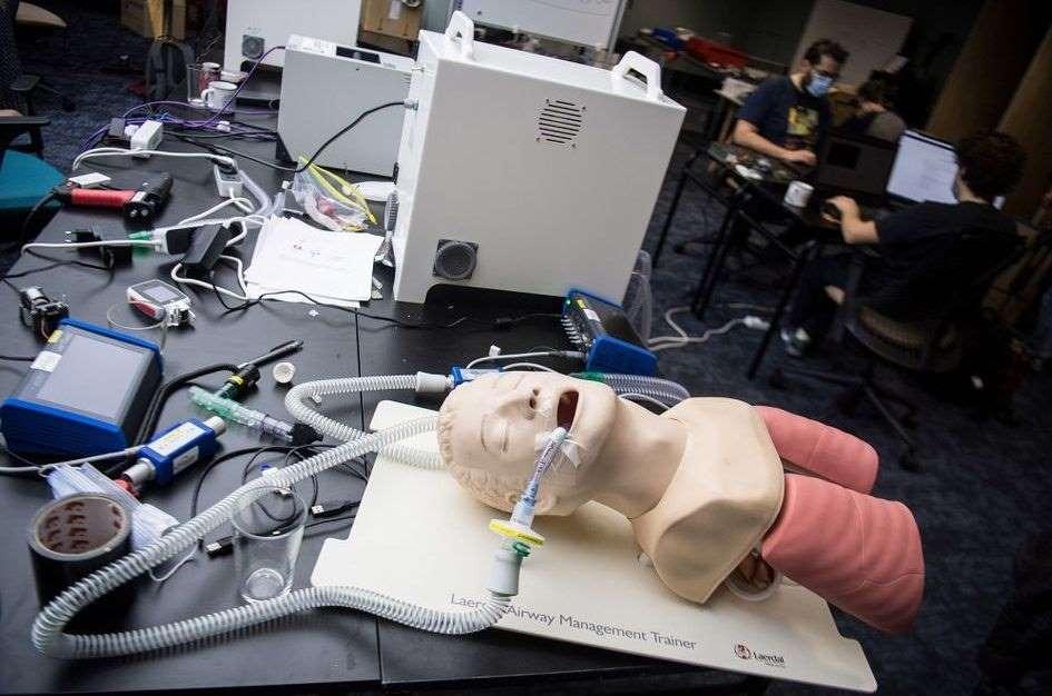 Makair respirateur artificial